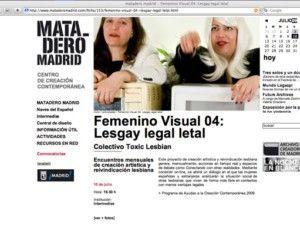 toxiclesbian.org; lesgay_legal_letal; lesbians; public_art; LGBT