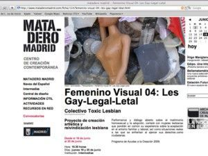 toxiclesbian.org; lesgay_legal_letal; lesbiennes; art_public; LGBT