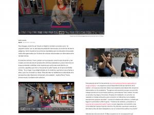 Realidades virtuales y femeninas en Tetuán El País Edición Digital, 28/08/2018