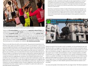 El Beso: arte urbano entre vecinas para contar 'el pequeño Caribe' madrileño Público (El Asombrario & co) 29/09/2018