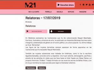 Relatoras Radio M21, 17/07/2019