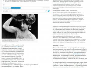 Toxic Lesbian, la artista que da voz a 'marimachas' y 'camioneras' El Diario.es, 03/11/2016